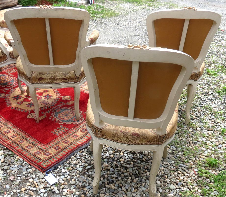 Louis XV Fauteuil Hard to Find Set of 6 French Chairs - Circa 1760 - $6,800.00