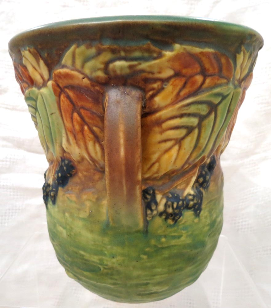 Roseville Beautiful, Early 20th Century Blackberry Dual Handled Vase - $745.00 USD