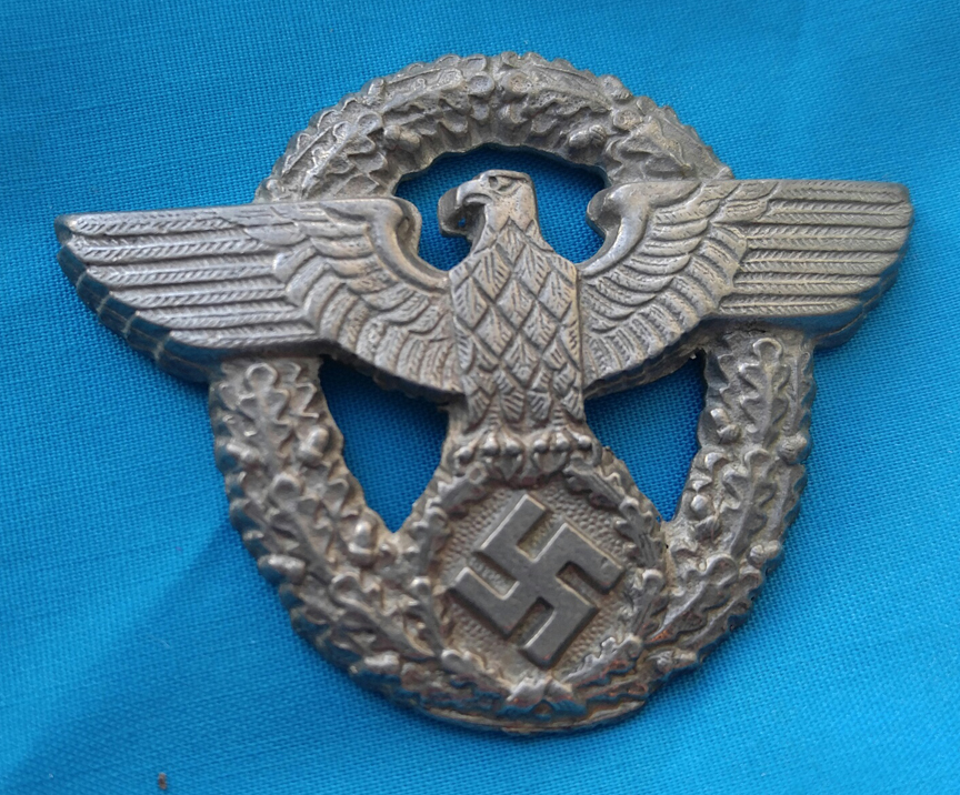WWII German Clothing Medal Ornament