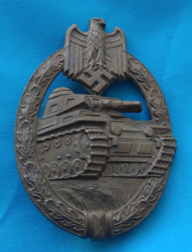 WWII German Tank Panser Unit Medal