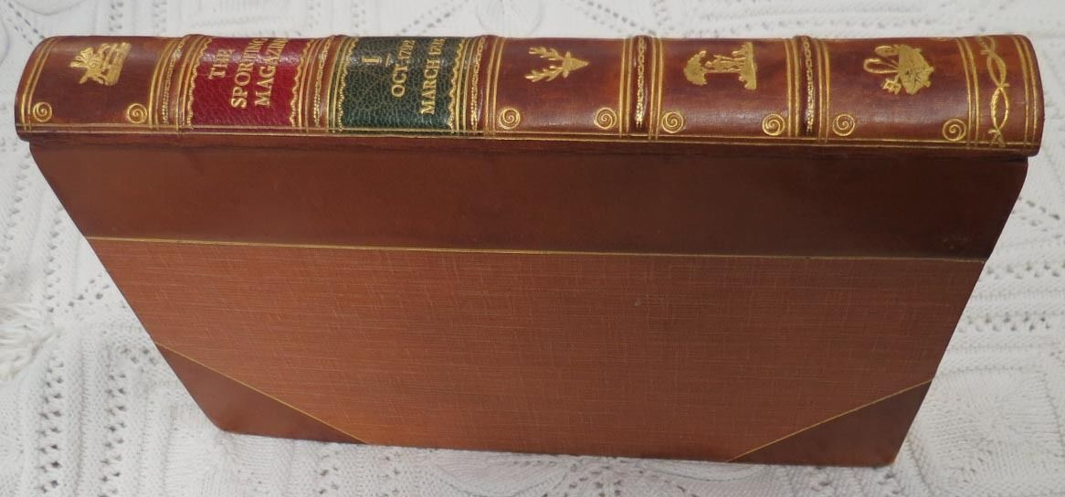 Rare Leather Bound Sporting Magazine Antique Books 157 Volume 1792 - 1870 Sir Walter Gilbey Set - $75,000 USD