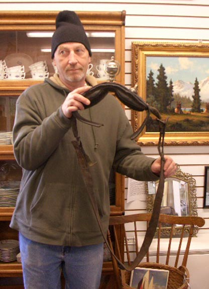 Sirsingle Early Horse Collar with Sleigh Bell - Circa 1880 - $295.00 USD
