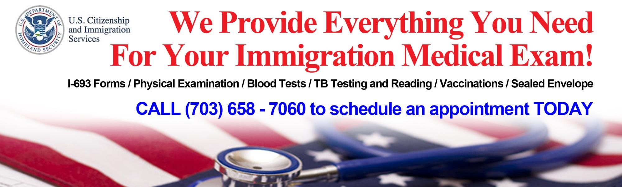 Complete immigration services.